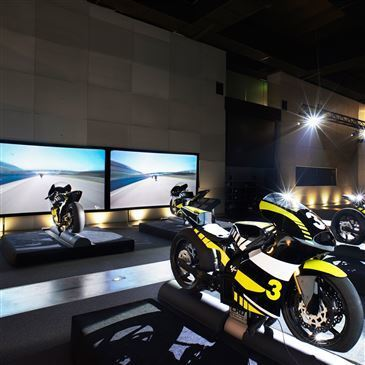 Simulateur de Pilotage Moto à Lyon