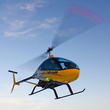 Baptême en Hélicoptère ULM - Survol du Lac d'Annecy