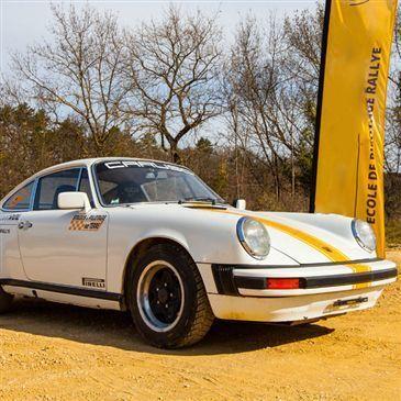 Baptême Rallye en Porsche 911 près de Nîmes