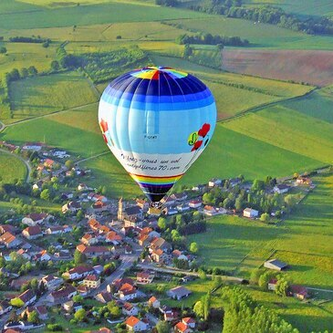 Vol en Montgolfière à Besançon