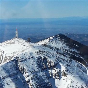 Vol privatif en Hélicoptère - Survol du Mont Ventoux