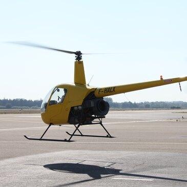 Vol privatif en Hélicoptère - Survol du Pont du Gard en région Provence-Alpes-Côte d'Azur et Corse