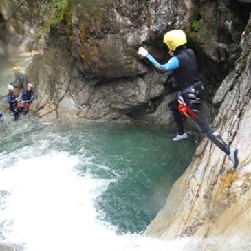 Descente du Canyon du Soussoueou