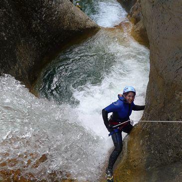 Descente Très Sportive du Canyon de Saugué