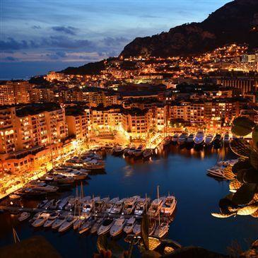 Coucher de Soleil en Yacht Privatisé à Monaco