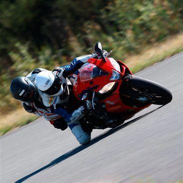 Baptême Moto sur Circuit en région Auvergne