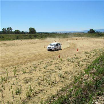 Stage de Pilotage Rallye, département Loire
