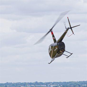 Baptême en Hélicoptère à Cholet