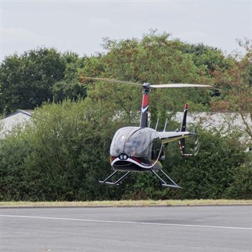 Aérodrome de Cholet-Le Pontreau, Maine et loire (49) - Baptême de l'air hélicoptère