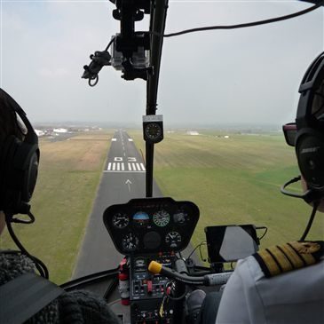 Vol d'Initiation en Hélicoptère à Cholet