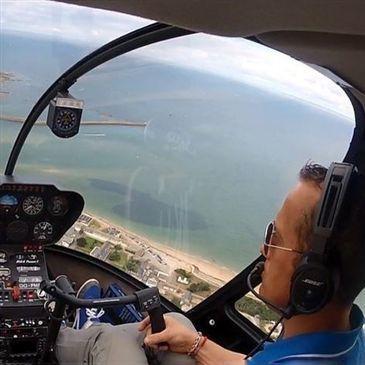Stage initiation hélicoptère en région Pays-de-la-Loire