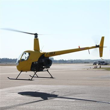 Aéroport d'Avignon-Provence, Vaucluse (84) - Baptême de l'air hélicoptère