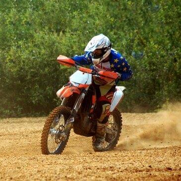 Initiation Moto-Cross à Mérignac