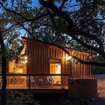 Cabane Perchée avec Spa & Sauna près de Montauban