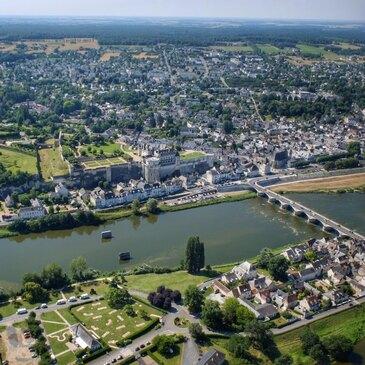 Baptême en Hélicoptère - Survol du Château d'Amboise