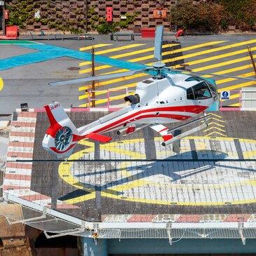 Baptême de l'air hélicoptère en région Provence-Alpes-Côte d'Azur et Corse