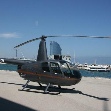 Héliport de Barcelone, Catalogne (CT) - Baptême de l'air hélicoptère