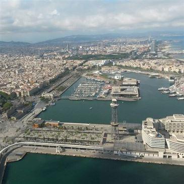 Baptême en Hélicoptère - Survol de Barcelone en région Espagne