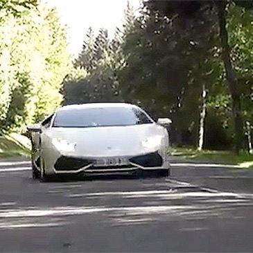 Stage sur Route en Lamborghini Huracan près de Strasbourg