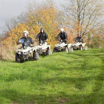 Randonnée en Quad dans les Vignes près d'Angers