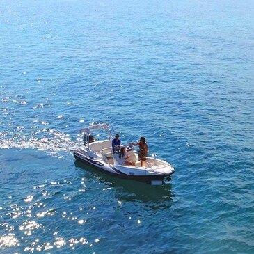 Balade en bateau, département Monaco