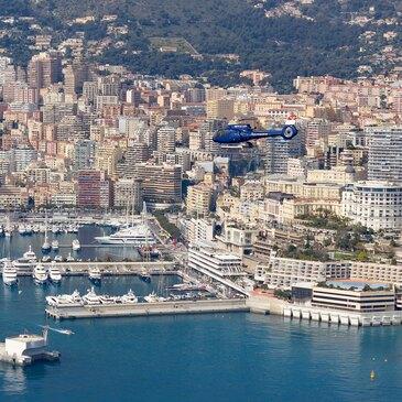 Baptême de l'air hélicoptère, département Monaco