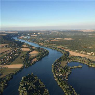 Baptême de l'air montgolfière, département Eure