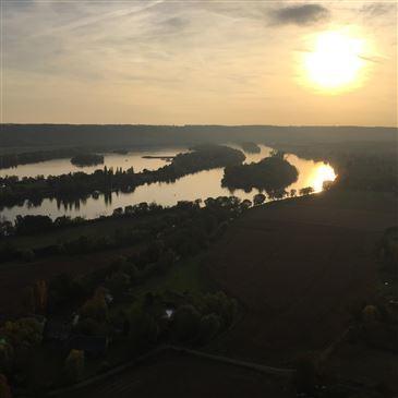 Herqueville, à 40 min de Giverny, Eure (27) - Baptême de l'air montgolfière