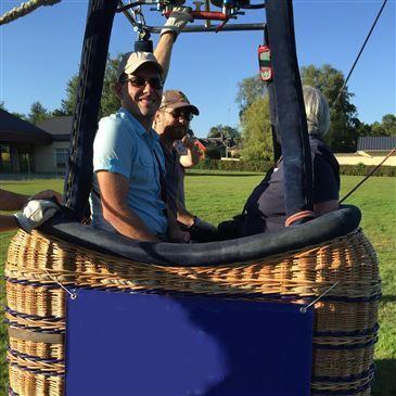Baptême de l'air montgolfière proche Herqueville, à 40 min de Giverny