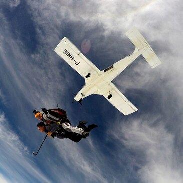 Saut Parachute en Tandem près de Besançon