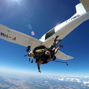 Saut en parachute, département Doubs