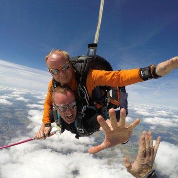 Saut en parachute proche Aéroport de Dijon Bourgogne, à 1h de Besançon