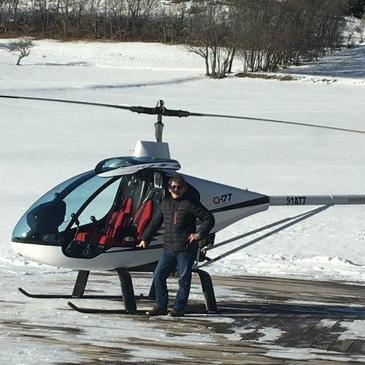 Baptême en Hélicoptère à Étampes