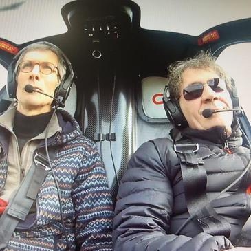 Baptême de l'air hélicoptère, département Essonne