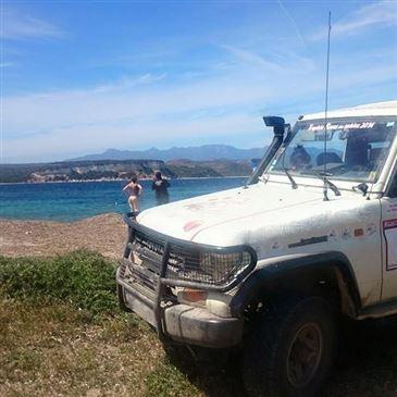 Stage de pilotage 4x4, département Haute Corse