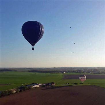 Vol en Montgolfière près de Liège