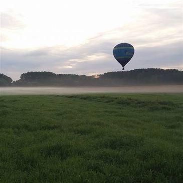 Baptême de l'air montgolfière en région Belgique