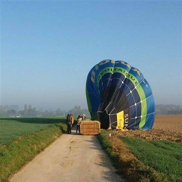 Villers-la-Ville, à 40 min de Namur, Brabant Wallon (WBR) - Baptême de l'air montgolfière