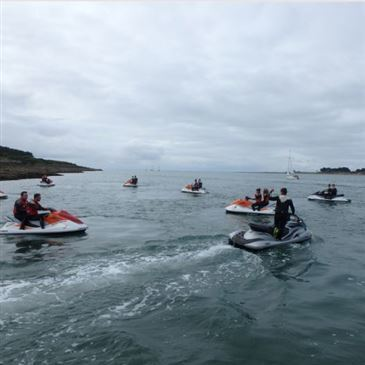 Saint-Philibert, à 10 min de Carnac, Morbihan (56) - Jet ski Scooter des mers