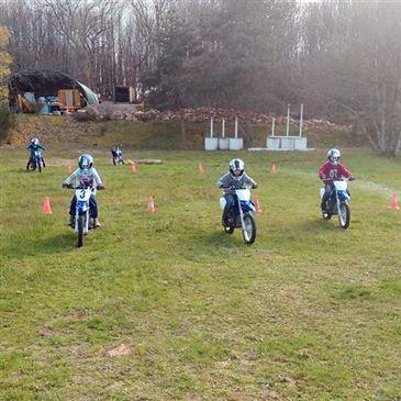 Initiation à la Moto pour Enfant près de Brive-la-Gaillarde