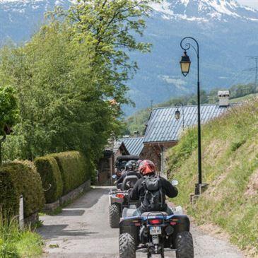 Randonnée en Quad à Bourg Saint-Maurice en région Rhône-Alpes