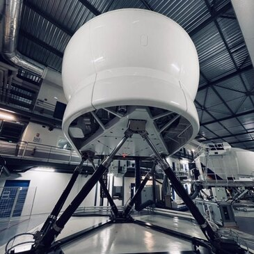 Simulateur de Vol sur Vérins Airbus à Paris Roissy-CDG
