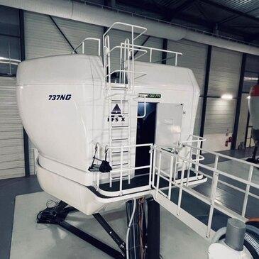 Simulateur de Vol sur Vérins Boeing à Paris Roissy-CDG