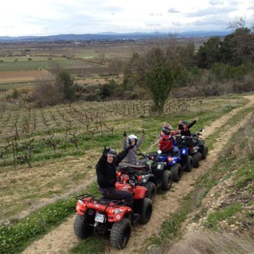 Paraza, à 30 min de Narbonne, Aude (11) - Quad & Buggy