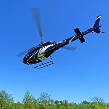 Baptême de l'air hélicoptère en région Haute-Normandie