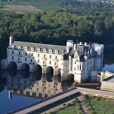 Baptême de l'air montgolfière proche Montrichard