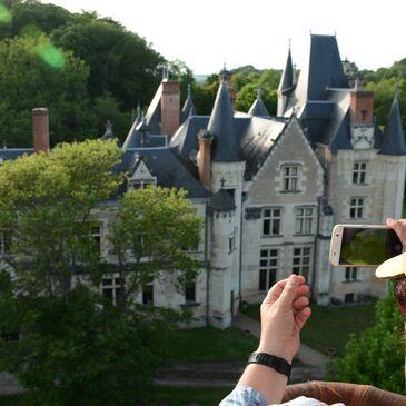 Vol en Montgolfière - Survol des Châteaux de la Loire en région Centre