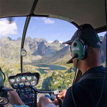 Initiation au Pilotage d'Hélicoptère à Grenoble