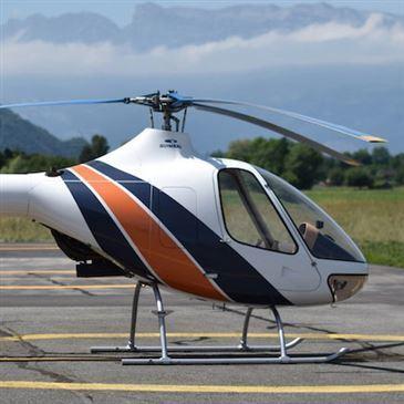 Stage initiation hélicoptère, département Isère