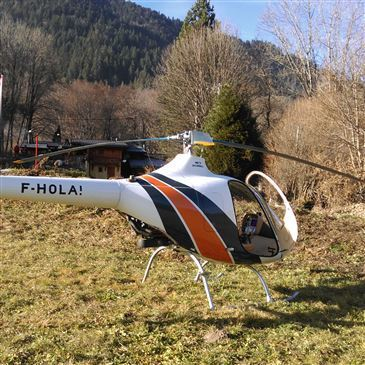 Stage initiation hélicoptère proche Aérodrome de Grenoble